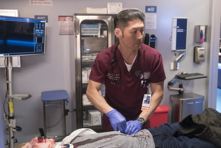 """Brian Tee as as Ethan Choi in """"Chicago Med."""""""