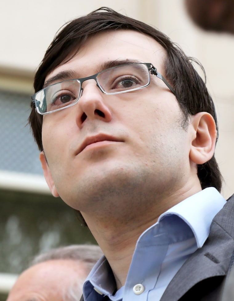 Image: Former Turing Pharmaceutical CEO Martin Shkreli arrives at Federal Court