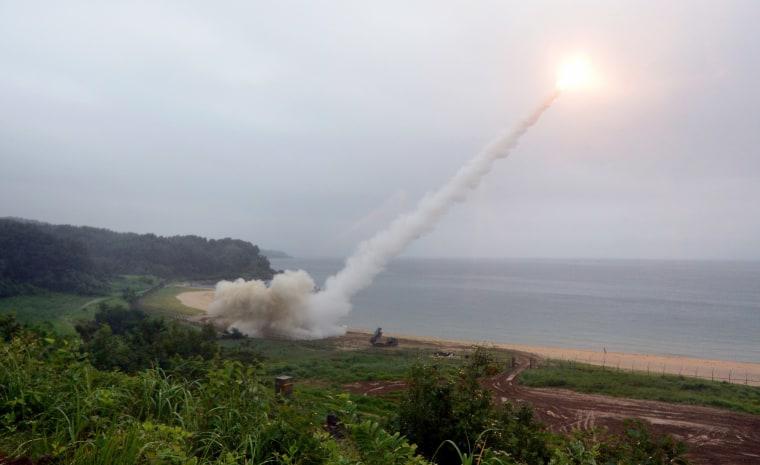 Image: North Korea Missile Launch