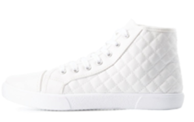 Qupid Quilted High Top Sneakers
