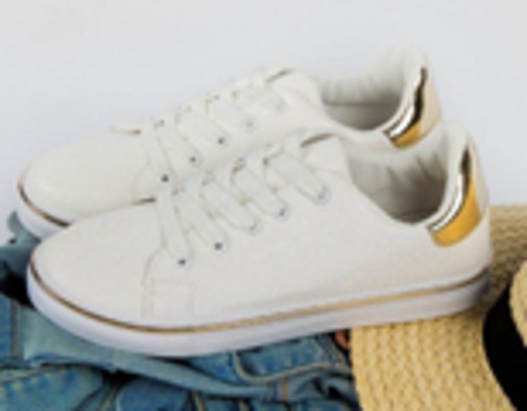 Matthew-02 White Laceup Sneaker