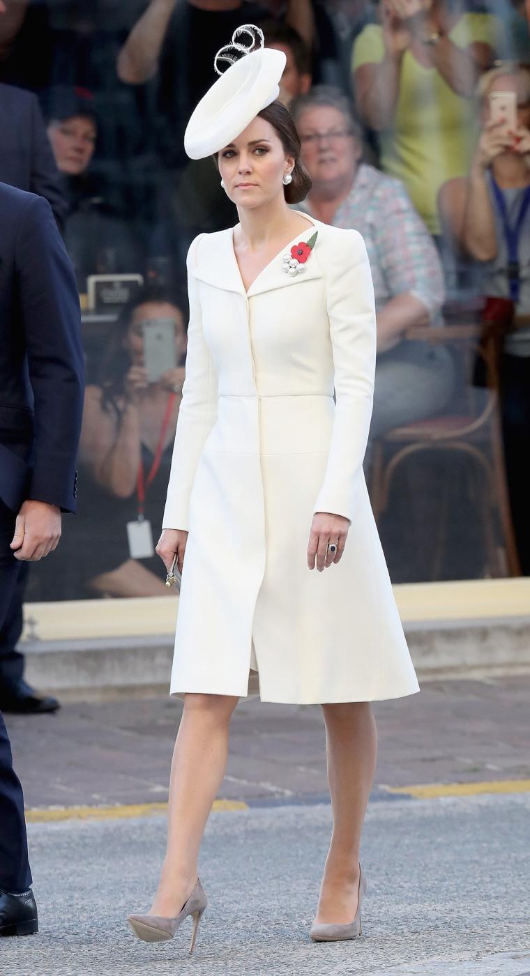Britain's Prince William, Duke of Cambridge and Britain's Catherine