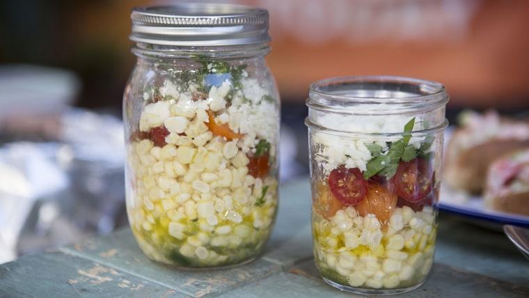 WILL GILSON SALAD: Will Gilson's Mason Jar Salad