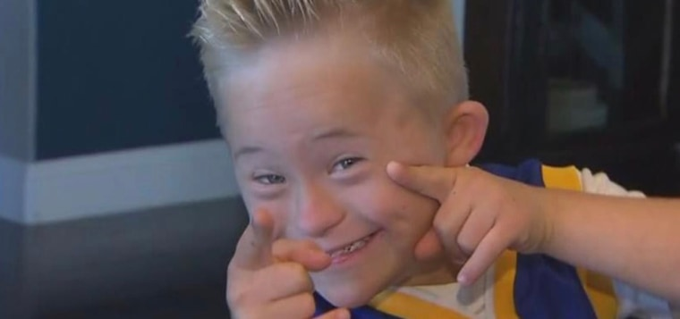 The viral video captures just as glimpse of the joy Dane carries with him everyday.