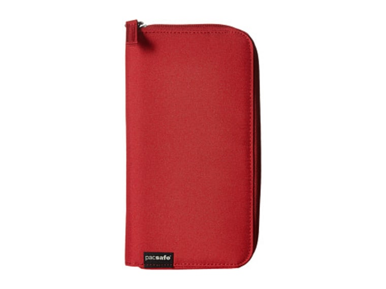 Pacsafe RFIDsafe LX250 RFID Blocking Zippered Travel Wallet