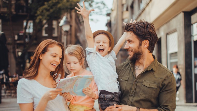 Image: Happy young family