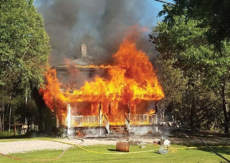 Harrison Holt is a hero after Dummer, New Hampshire, fire