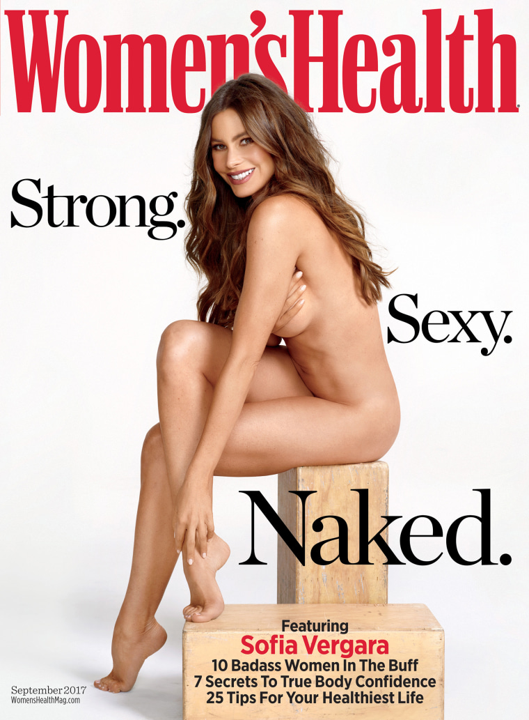 Women's Health cover with Sofia Vergara