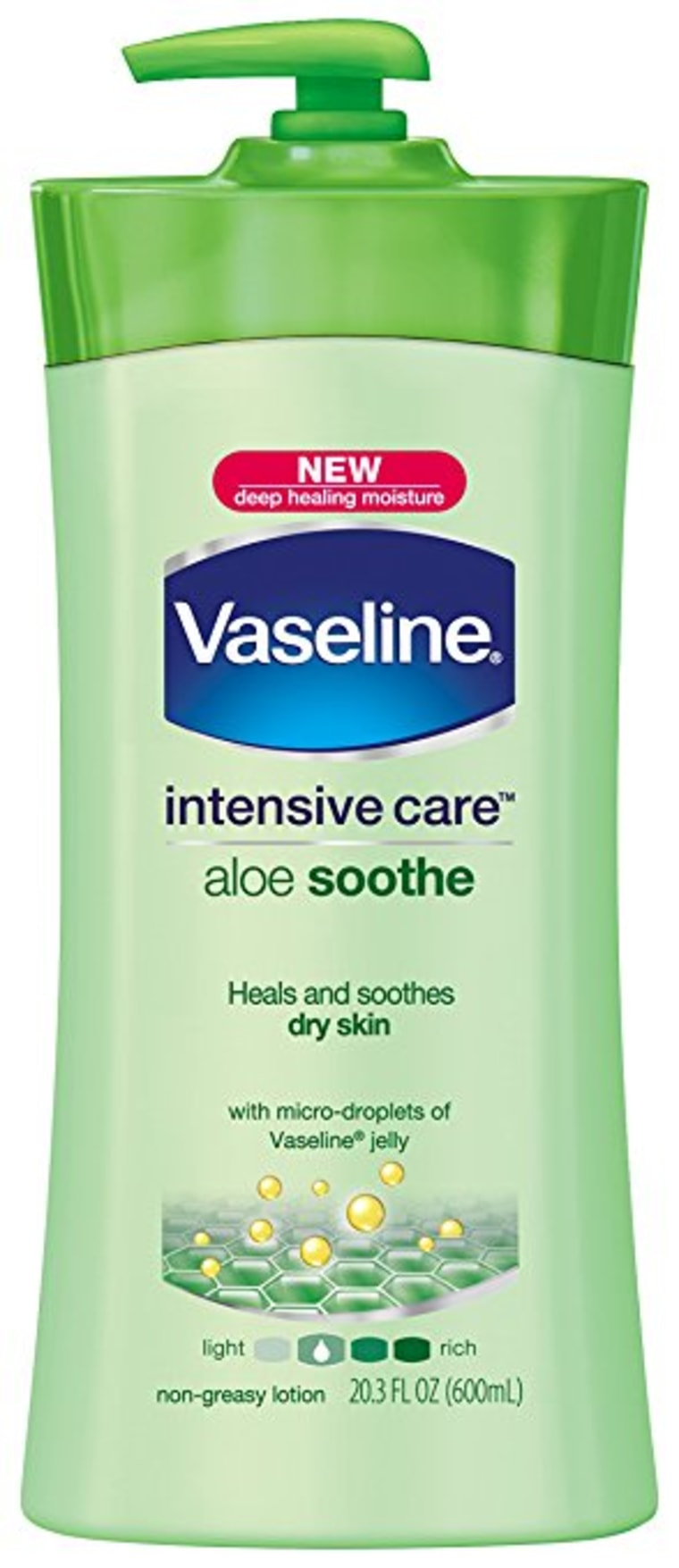 Vaseline Intensive Care Lotion, Aloe Soothe