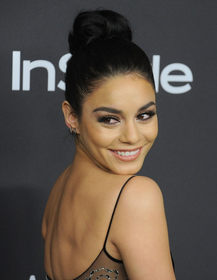 Vanessa Hudgens at 2016 InStyle and Warner Bros. 73rd Annual Golden Globe Awards Post-Party