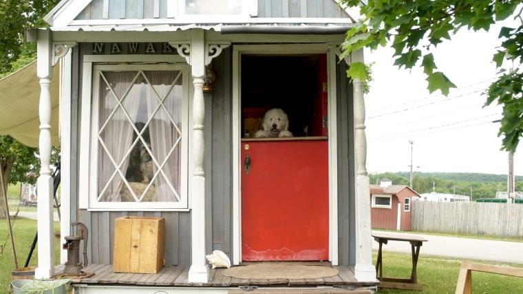 Victorian tiny home