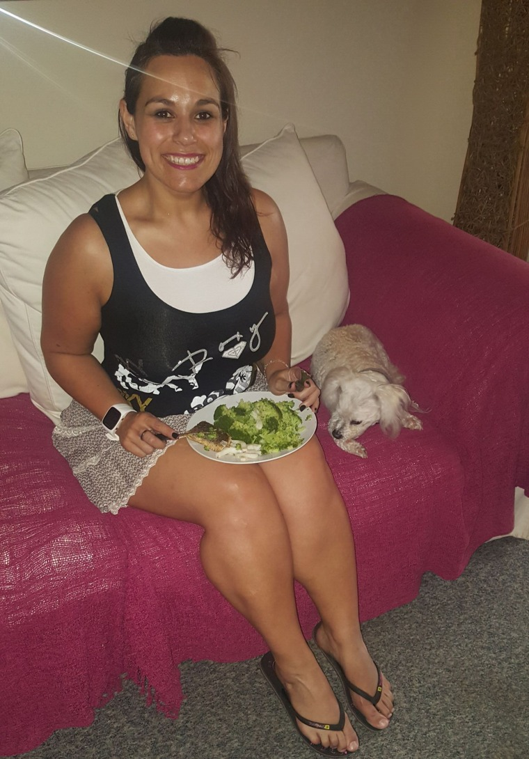 Leandie Williams - weight loss