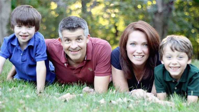 The Hockley family. Dylan (far left) died in the 2012 school shooting at Sandy Hook Elementary. His brother, Jake (far right), survived.