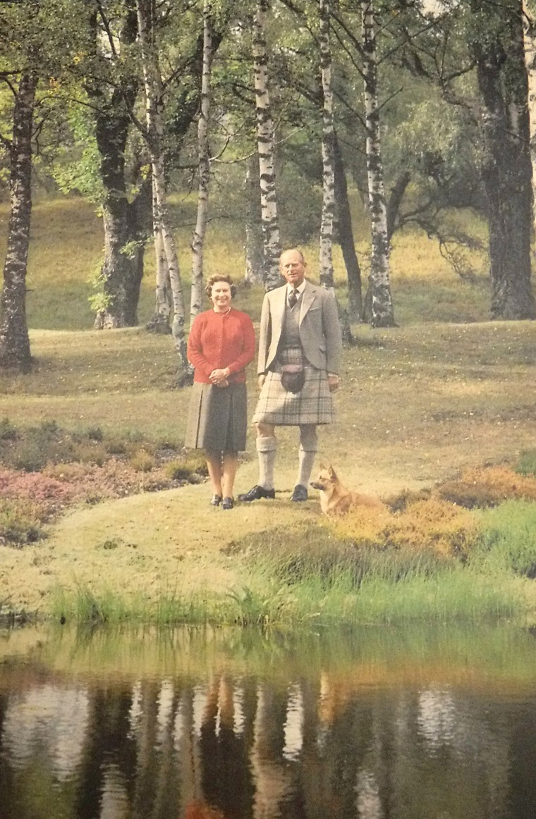 The Queen and Prince Philip's 1984 card.