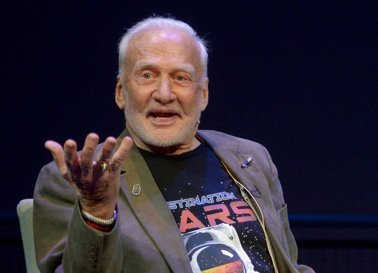 Buzz Aldrin at the Science Muesum