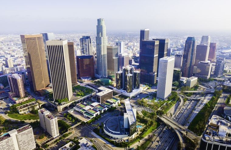Image: Los Angeles Skyscrapers
