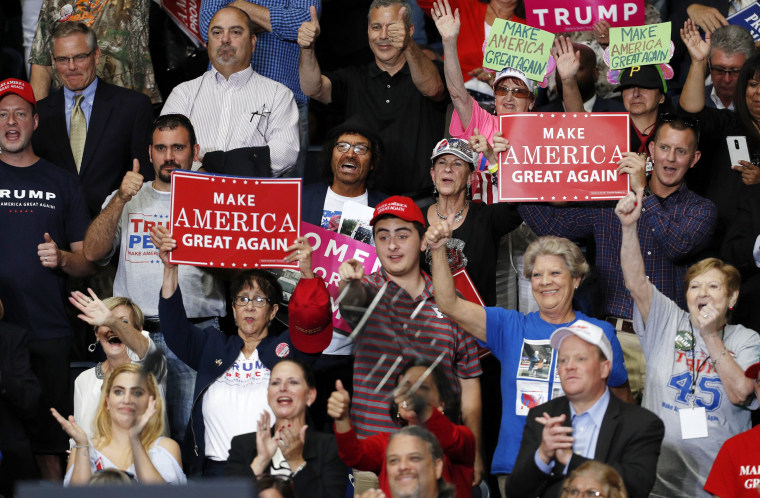 Image: US President Donald J. Trump at Make America Great Again rally in Youngstown, Ohio