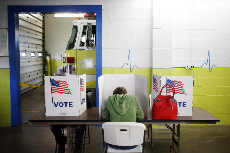 Image: Voters Cast Their Ballots For The 2016 U.S. Presidential Election