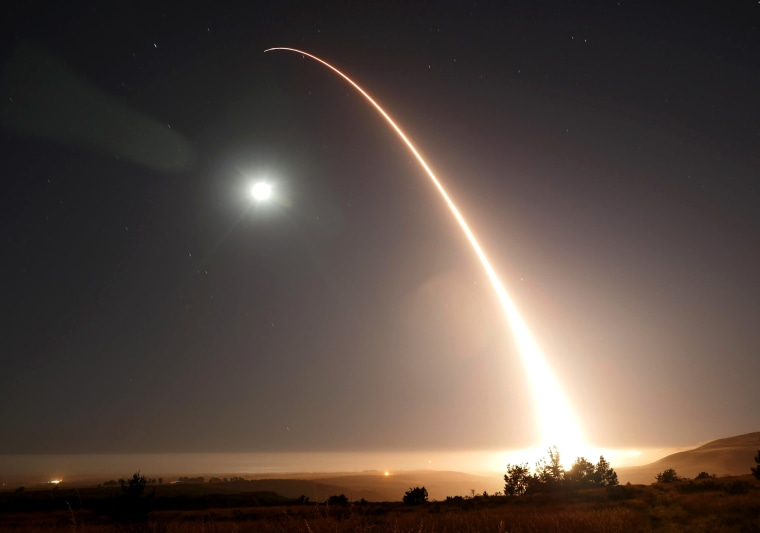 Image: Minuteman 3 Intercontinental Ballistic Missile Launch