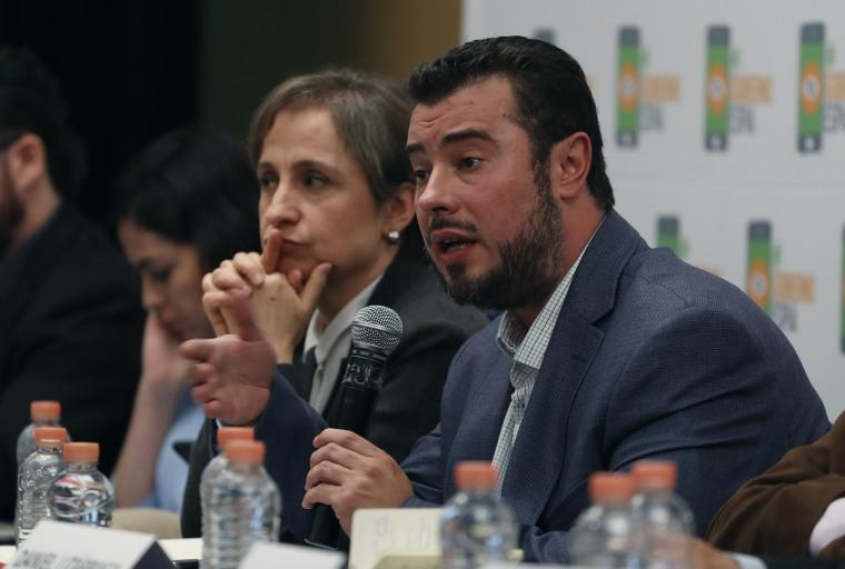 Mario Patron Sanchez, Carmen Aristegui