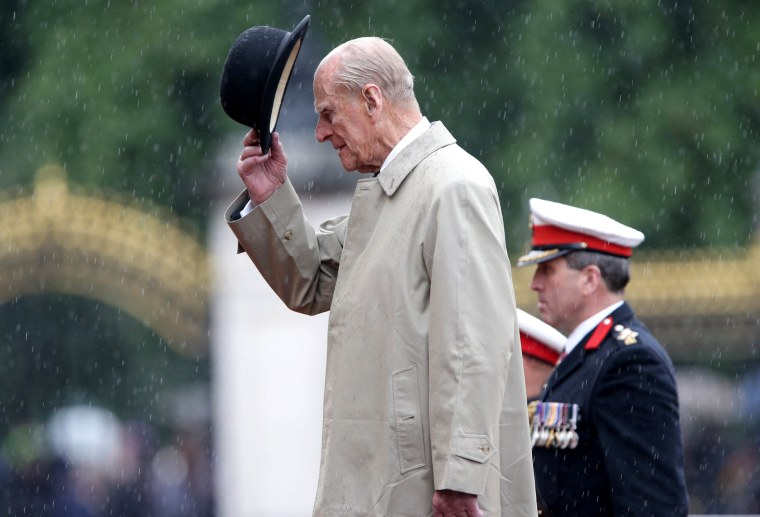 Image: Prince Philip Bows Out, Retires From Public Duties