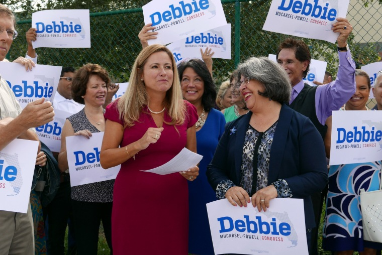 Image: Democrat challenging Rep. Curbelo lived in the Florida district, for 2 months