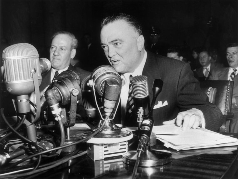 J Edgar Hoover Speaks