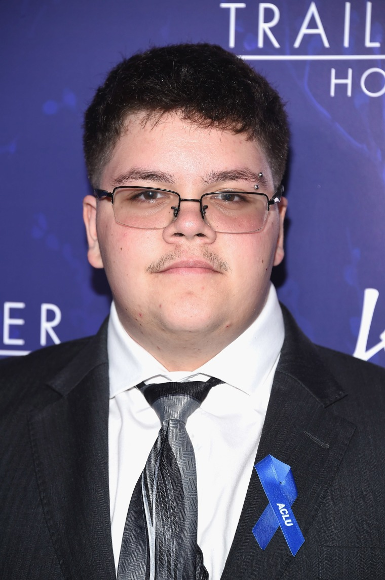 Image: Gavin Grimm attends Logo's 2017 Trailblazer Honors Awards show