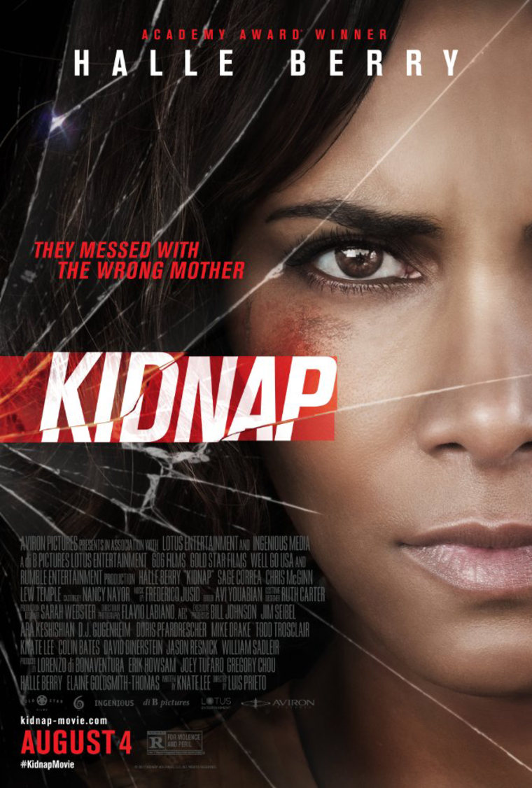 Image: Poster of New Halle Berry Movie Kidnap