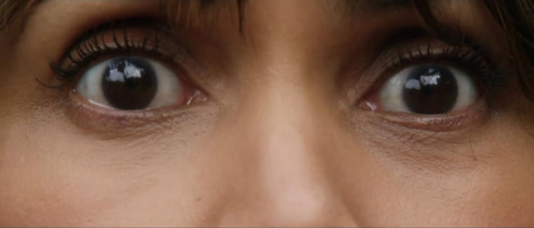 Image: Close Up of Halle Berry's Eyes from New Movie Kidnap