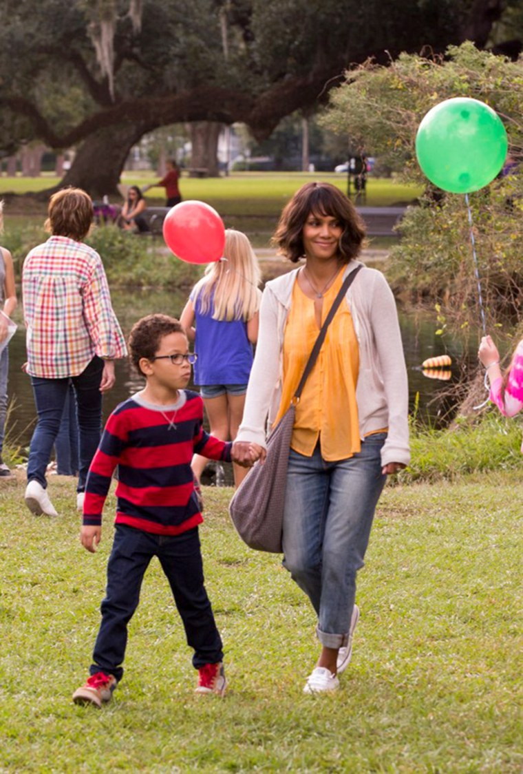Image; Halle Berry appears in a still from her new movie, Kidnap