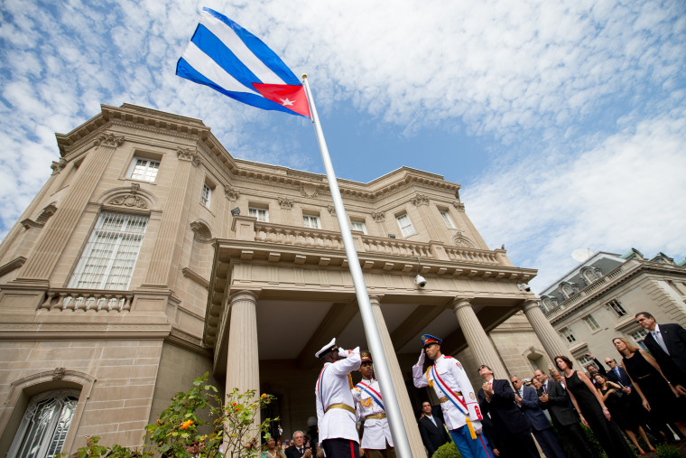 Image: Cuban Embassy in DC