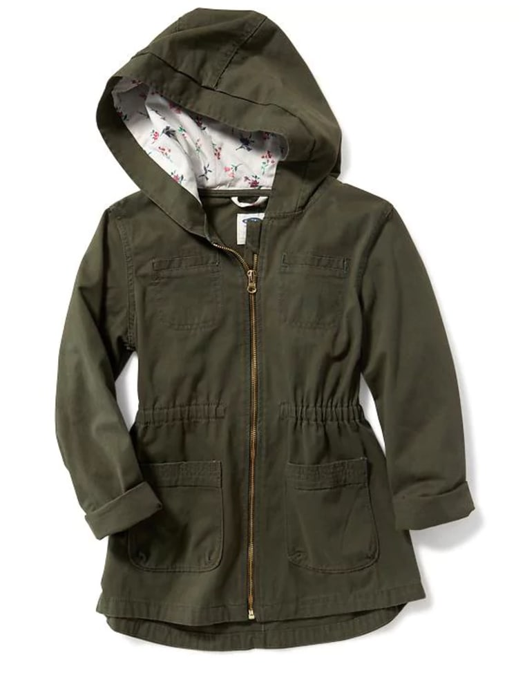 Fitted Utility Jacket for Girls