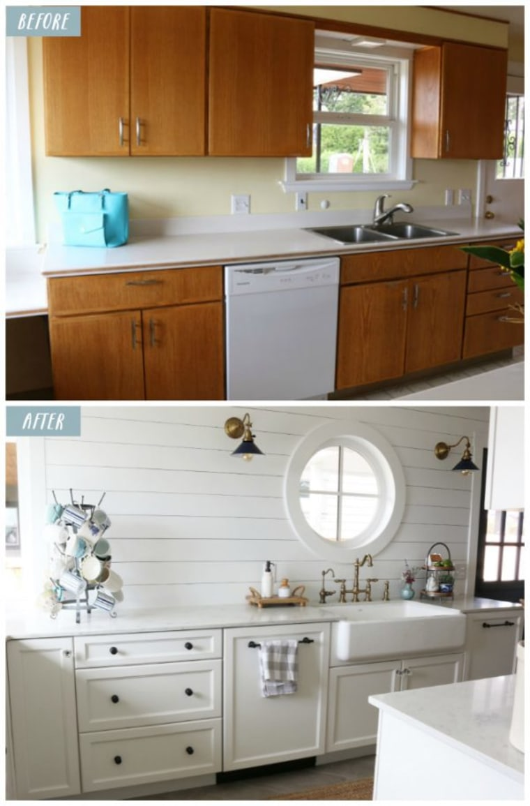 Small kitchen makeover