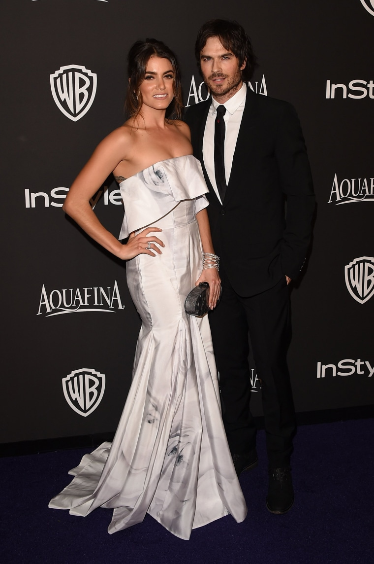 Image: FILE: Ian Somerhalder And Nikki Reed Marry 2015 InStyle And Warner Bros. 72nd Annual Golden Globe Awards Post-Party - Arrivals