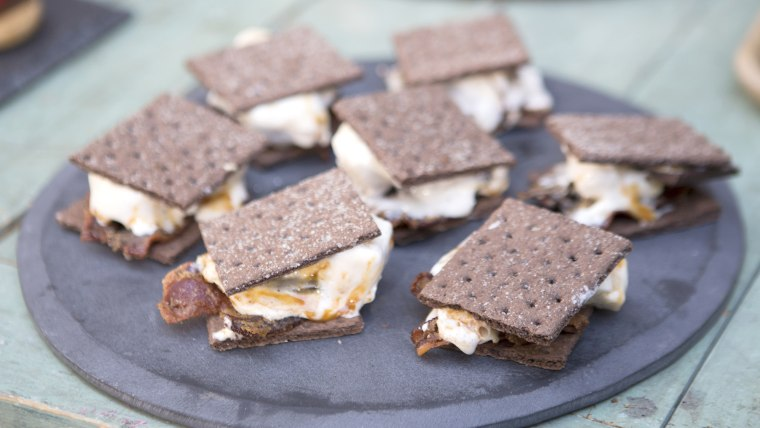 Brown Sugar Bacon Caramel S'mores