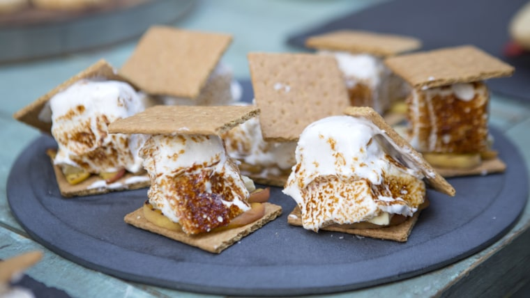Jocelyn Delk-Adams' Peach White Chocolate S'mores