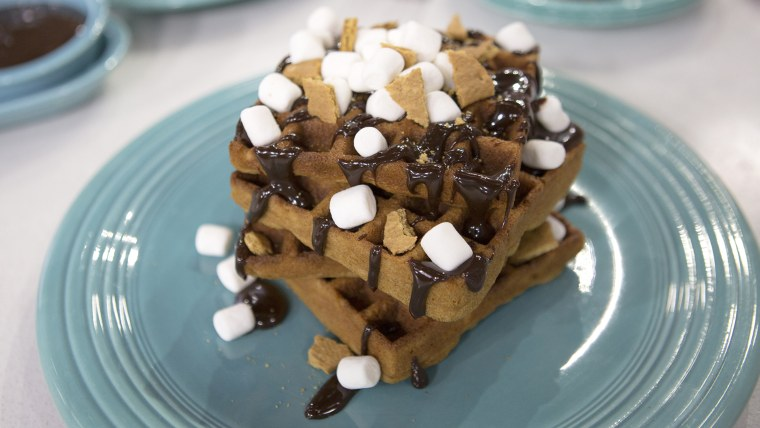S'mores Waffles