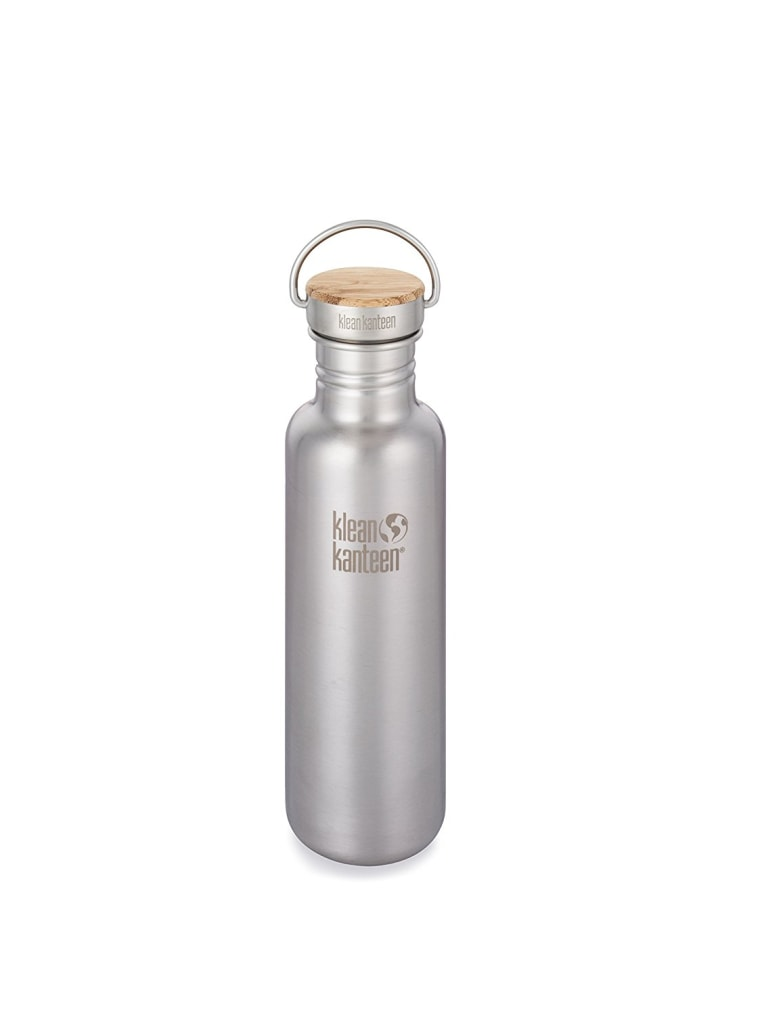 Klean Kanteen Reflect Bottle w/ Stainless Unibody Bamboo Cap