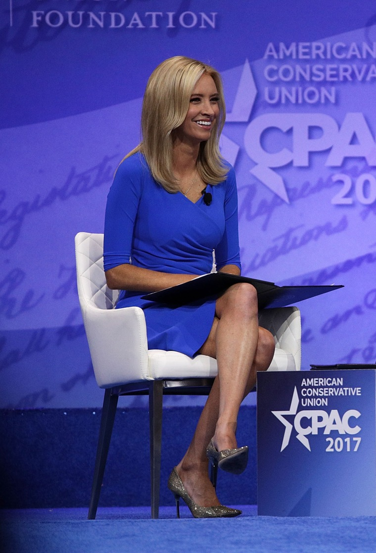 Image: Political commentator Kayleigh McEnany speaks during CPAC