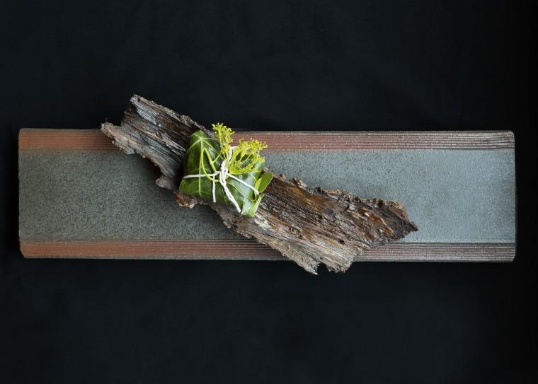 A course from chef Niki Nakayama's n/naka