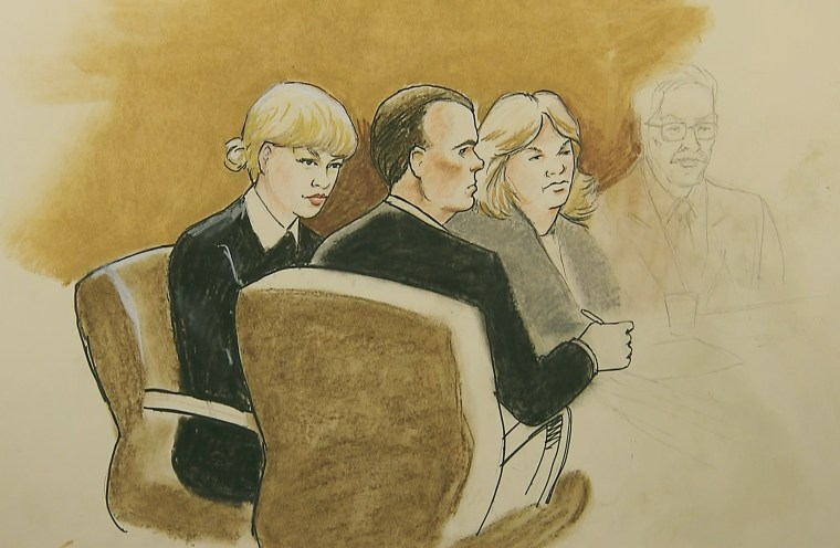 Image: Taylor Swift and her defense team