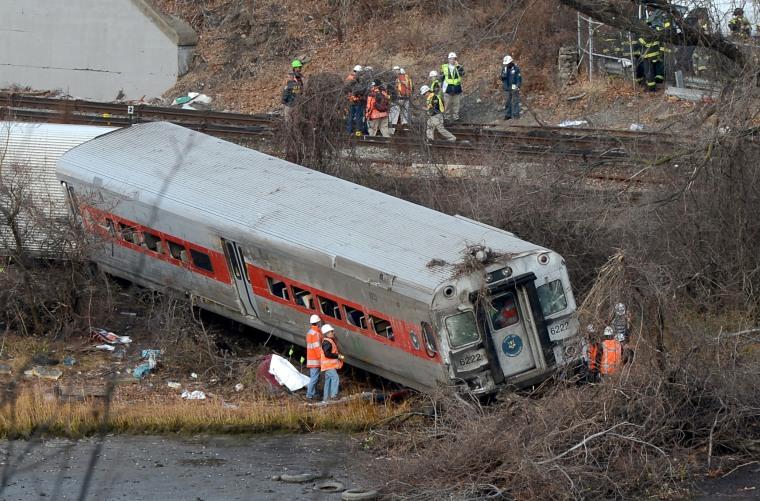 Image: New York Train Crash
