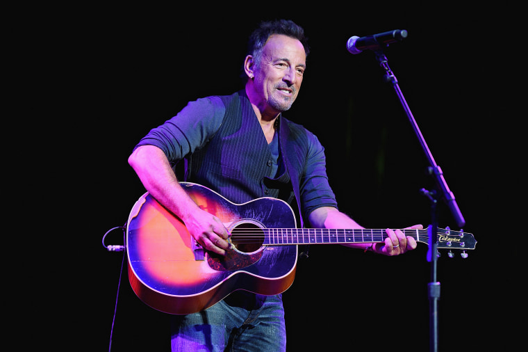Image: Bruce Springsteen performs onstage at The New York Comedy Festival