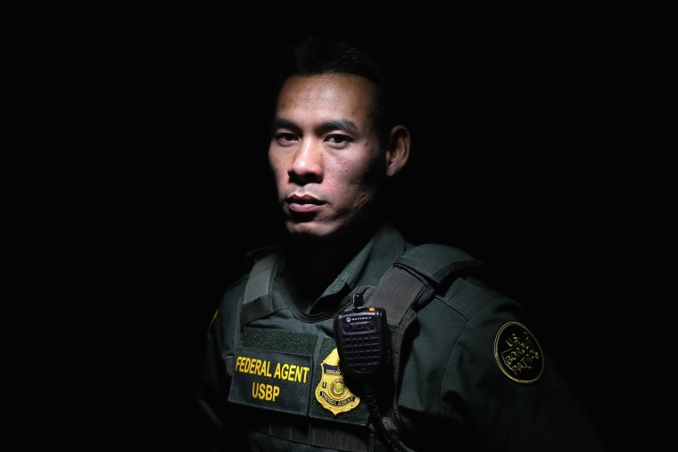 Image: Portraits Of New Agents At Border Patrol Academy In New Mexico
