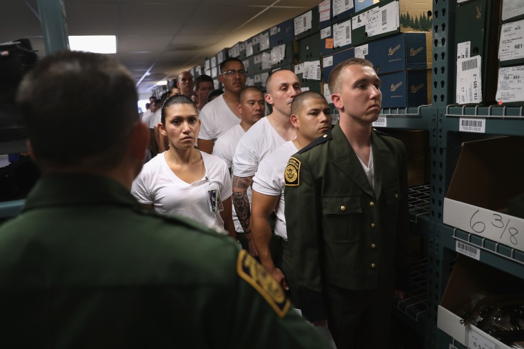 Image: New Agents Train At US Border Patrol Academy In New Mexico