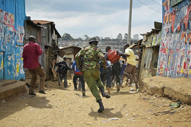 Image: Kenya Election Tension