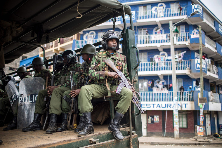 Image: Kenya Election Tensions