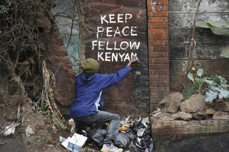 Image: Kenya general elections results aftermath