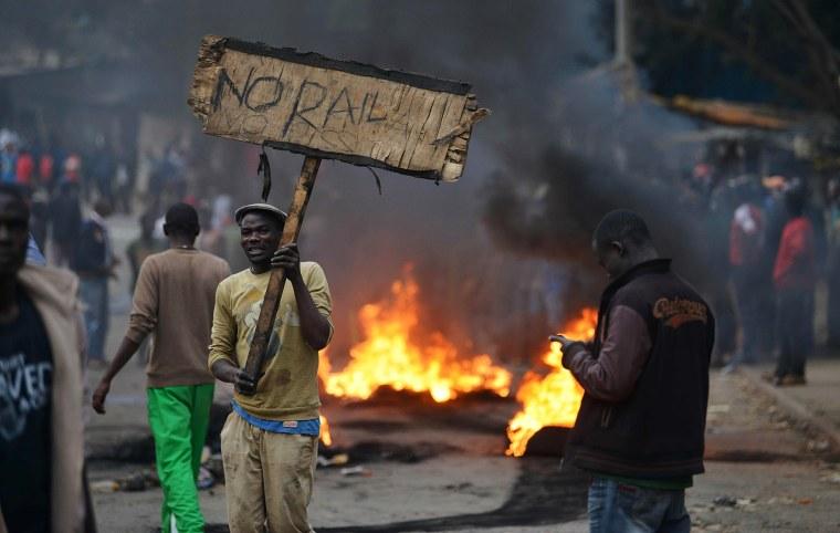 Image: KKenya Election Tension